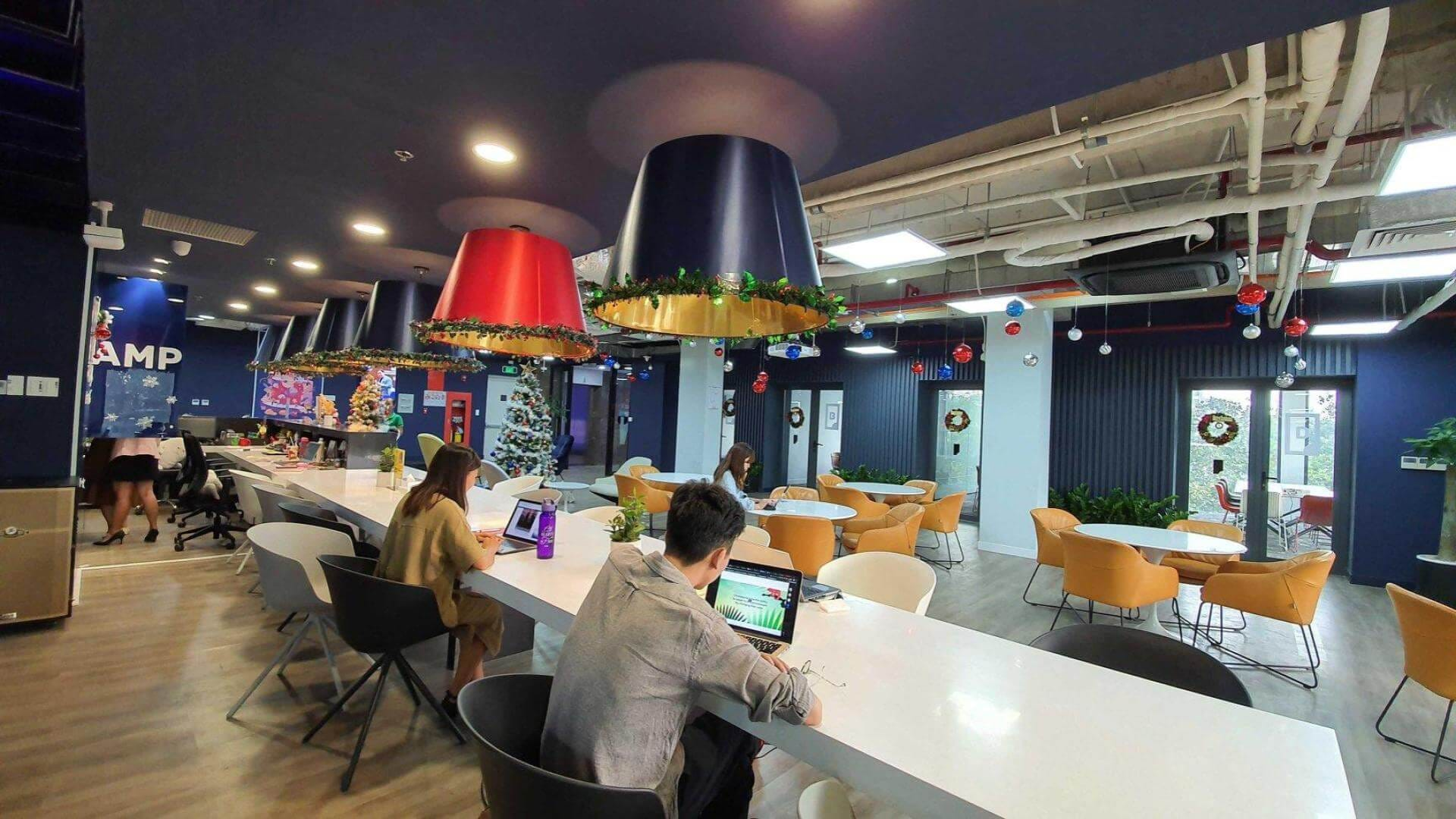Dreamplex coworking space in Ho Chi Minh City