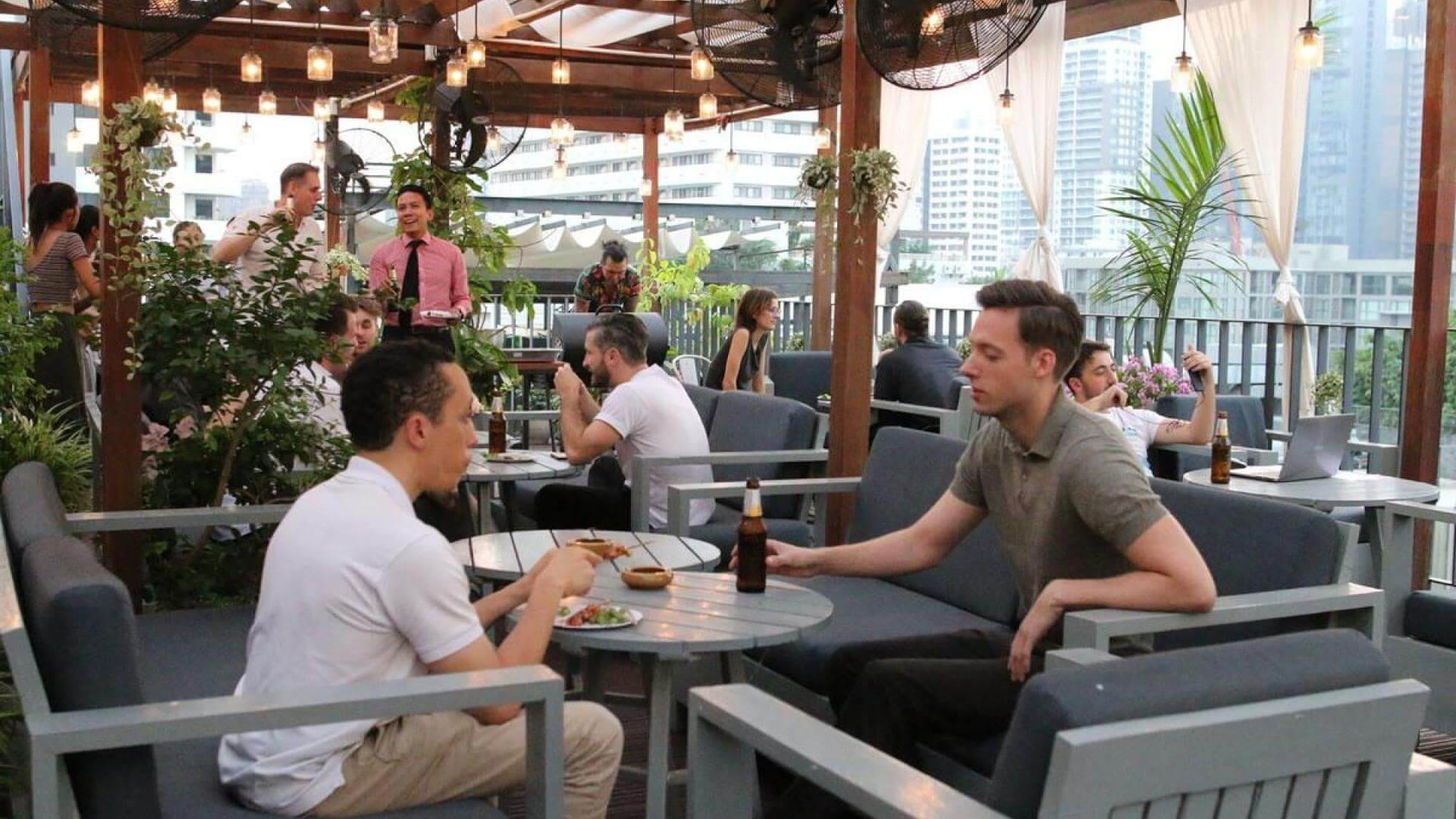 The Hive Thonglor coworking space in Bangkok